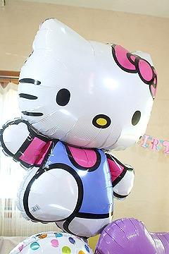 【誕生日 キャラクター バルーン】ラブリーキティ