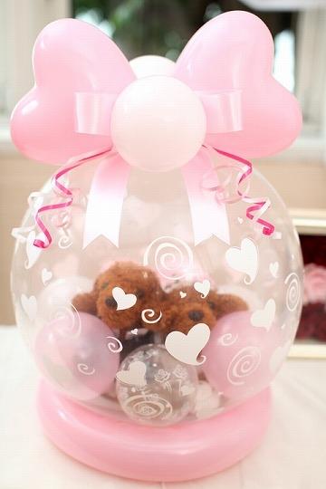 【ぬいぐるみの種類が選べる】ワンちゃんの結婚式♪/ピンク