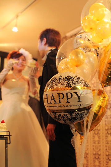 【大型】【電報 結婚式 送料無料】Happy Wedding ring