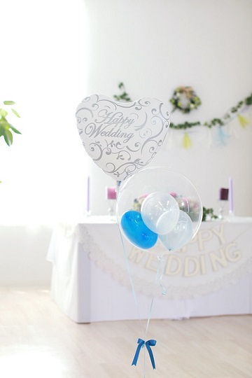 【結婚式 電報 送料無料】BHWDG-ブルーハッピーウェディング-