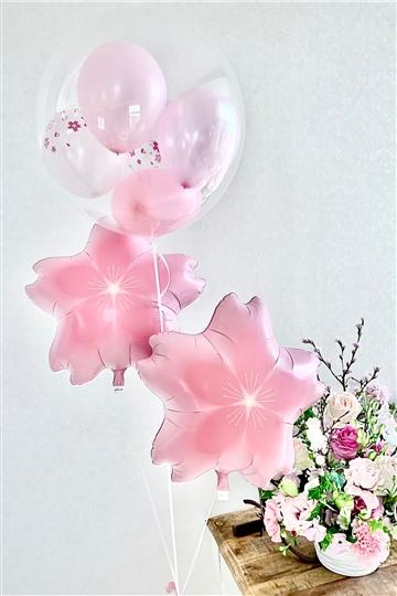 コロコロ桜 & さくら / バルーンブーケ