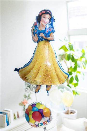 白雪姫からお祝い/メッセージが選べる18種