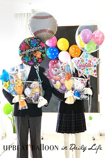 【入園・卒園・入学・卒業】キャラクター全24種 バルーンレイ ミニオン〜バルーンの首飾り〜
