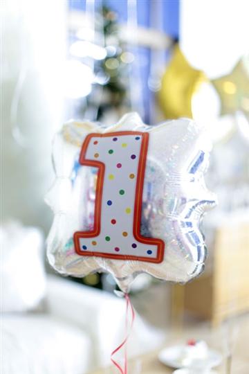 「1」ナンバーキャンドルBLT18