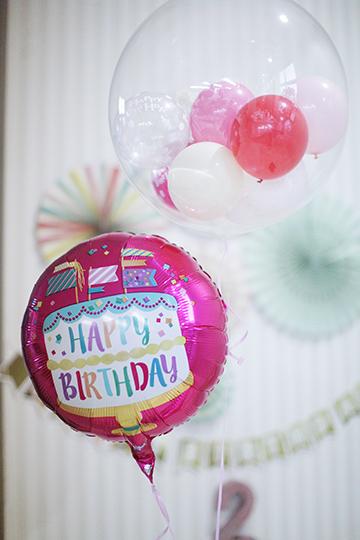 【誕生日 バルーン】ゆらゆら♪ユニコーンバースデー