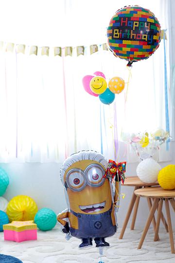 【誕生日 バルーン】Happy Birthday from ミニオン