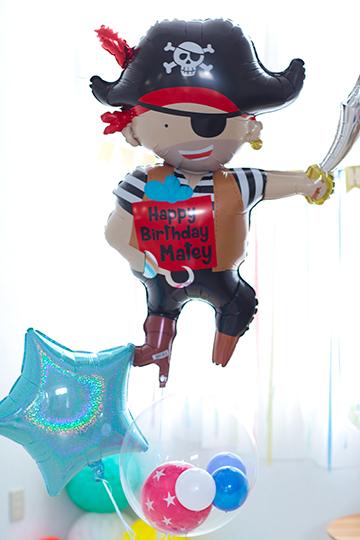【誕生日 バルーン】パイレーツBIRTHDAY