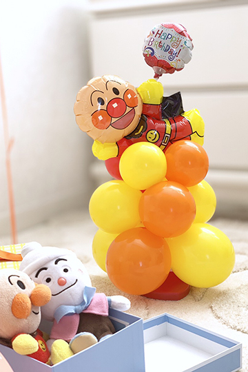 【誕生日 キャラクター バルーン】アンパンマンからの贈り物