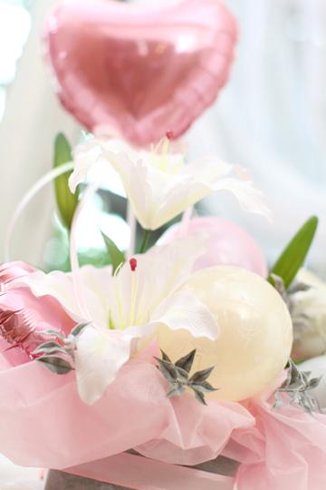 【結婚式 電報】カサブランカストリーム/ピンク