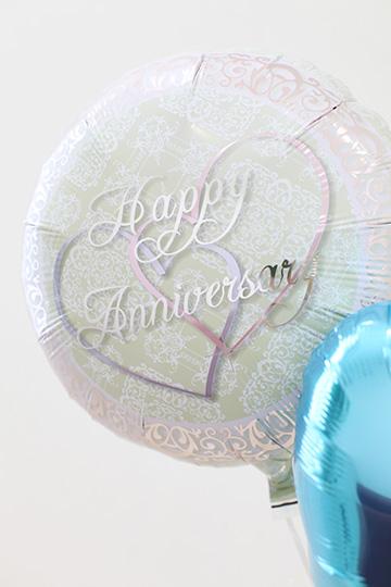 【結婚式 電報】Mini Anniversary/ブルー