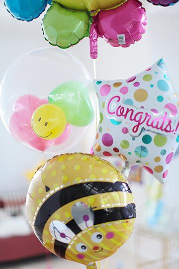 【合格祝い電報・卒業・入学】Congrats! スマイリーフラワー