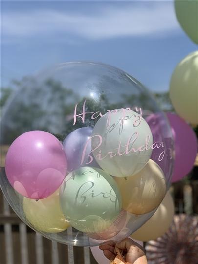コロコロフリンジ&マカロン/ Happybirthday