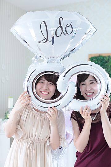 【大型】【結婚式 電報 送料無料】Happy Wedding ring pink