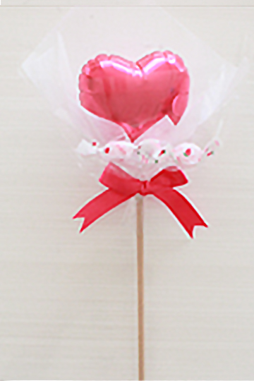 【入園・卒園・入学・卒業】選べるパステルハートスティック キャンディ付 全10色