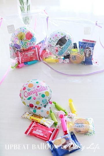 【入園・卒園・入学・卒業】選べるバルーンレイ Congrats!おかし付き mini 全11種
