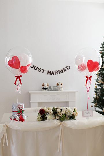【結婚式 電報 送料無料】 コロコロsnow&レッドmc