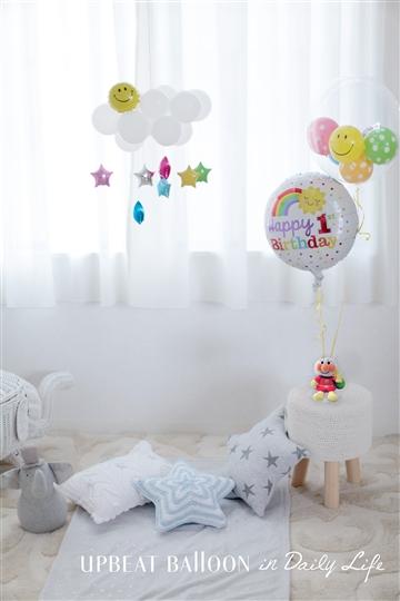 【1歳  誕生日】1st Birthday アンパンマン Dots