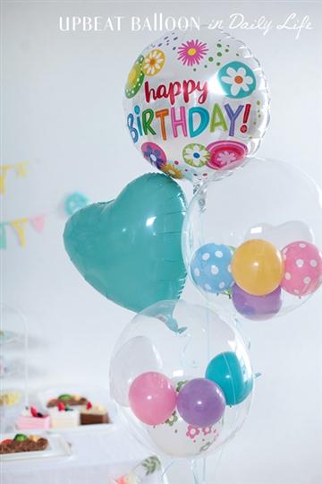 【誕生日 バルーン】バースデーフローラルサークル