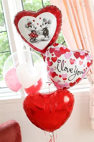 【結婚式 電報】Love Love ミッキー&ミニー