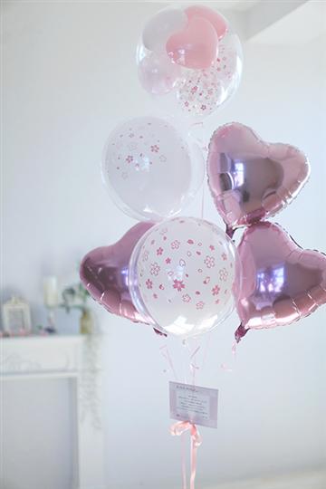 【大型】【どんな用途もOKなバルーン 送料無料】 桜のお祝い