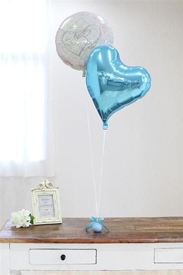 【電報 結婚式】Mini Anniversary/ブルー