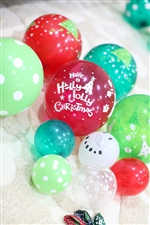 クリスマス柄ゴム風船B