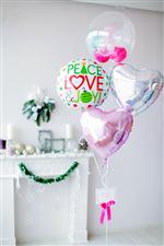 【クリスマス バルーン パーティー】PEACE LOVE & JOY!