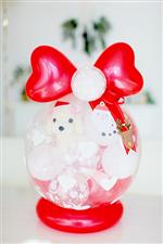 【クリスマスプレゼント】Xmasプレゼント♪ホワイトプードル