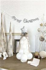 【クリスマスパーティー 送料無料】ホワイトツリー