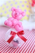 【入園・卒園・入学・卒業】コロコロくまさん/ピンク(チョコ)