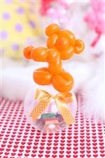 【入園・卒園・入学・卒業】コロコロくまさん/オレンジ(チョコ)