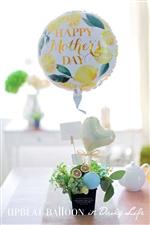 【母の日ギフト】happy time レモン&クローバー 無地カード付