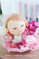 【1歳 誕生日 バルーン】トゥインクル1stBDガール