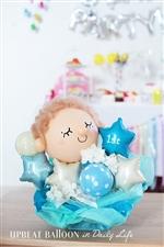 【1歳 誕生日 バルーン】トゥインクル1stBDボーイ