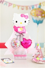 【誕生日 バルーン】キティからHappyBirthday