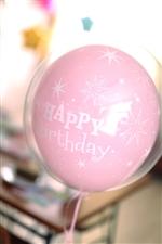 【誕生日  バルーン】バースデースパークルpink371