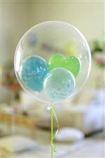 【誕生日  バルーン】ポップバースデーgreen373