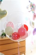 【誕生日  バルーン】バースデーコロコロpink408