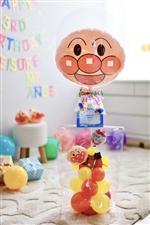 【誕生日 キャラクター バルーン】人気2位 アンパンマンからの贈り物