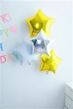 【誕生日 バルーン】 ぷかぷか浮かぶお星さま★4個セット