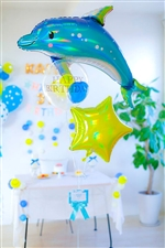 【誕生日 バルーン】スタードルフィンバースデー【会員ログインで\5500円に!】