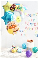 【誕生日 バルーン】 アンパンマンからおめでとう♪