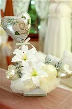 【結婚式 電報】カサブランカストリーム/ホワイト