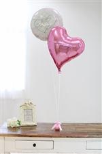 【結婚式 電報】Mini Anniversary/ピンク