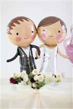 【大型】【結婚式 電報】ラブリーグルーム&ブライド