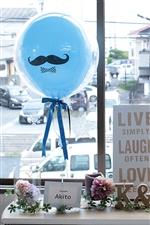 【結婚 電報】Balloon props 電報 Blue