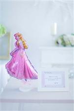 【結婚式 バルーン電報 送料無料】ディズニー電報(卓上)/眠れる森の美女 オーロラ姫