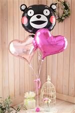 くまモンハート/ピンク