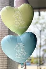 アマビエ バルーン HEART 選べる18色 【送料無料★ログインでさらに¥1620】