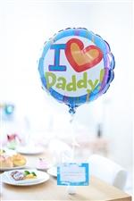【父の日 プレゼント バルーン】I Love Daddy !